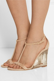 Burberry Prorsum Leyburn suede wedge sandals