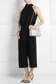 McQ Alexander McQueen Simple Fold metallic leather shoulder bag