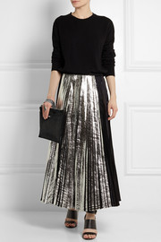 McQ Alexander McQueen Teach textured-leather clutch