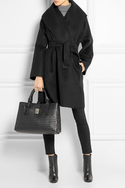 Bottega Veneta Belted double-faced cashmere coat