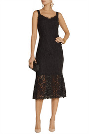 Dolce & Gabbana Fluted lace dress