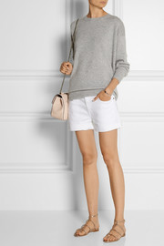 Current/Elliott The Boyfriend low-rise stretch-denim shorts