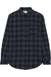 The Prep School plaid cotton-flannel shirt