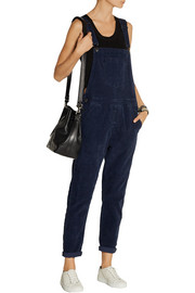 Current/Elliott The Shirley stretch-corduroy overalls