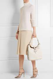 Burberry Shoes & Accessories Medium textured-leather tote