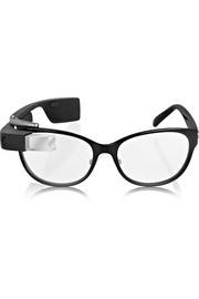 DVF MADE FOR GLASS Charcoal frames with black shades