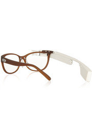 DVF MADE FOR GLASS Brown frames with rose shades