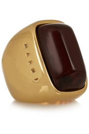 Marni Gold-plated horn ring