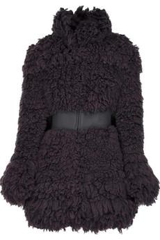 Stella McCartney Tufted wool coat
