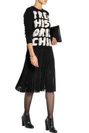 Moschino Cheap and Chic Intarsia cashmere sweater