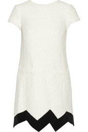 Moschino Cheap and Chic Cotton-blend bouclé mini dress