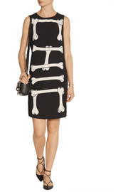 Moschino Cheap and Chic Chic printed crepe dress