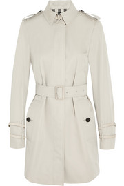 Cotton-gabardine trench coat