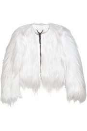Goat hair jacket