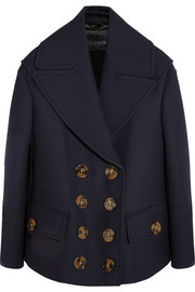 Burberry Prorsum Wool and silk-blend coat