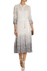 Burberry Prorsum Degradé stretch-lace dress