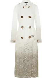 Burberry Prorsum Dégradé lace trench coat