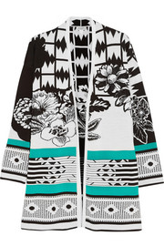 Etro Intarsia cotton cardigan