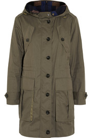 Cotton-twill parka