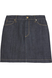 Burberry Brit Stretch-denim mini skirt