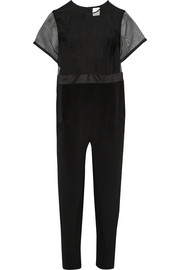 Karla Spetic Tide silk-organza and silk-crepe jumpsuit