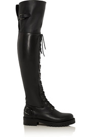 Dolce & Gabbana Leather over-the-knee boots