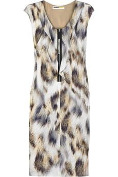 Clements RibeiroLynx silk dress