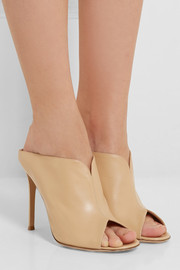 Gianvito Rossi Leather mules