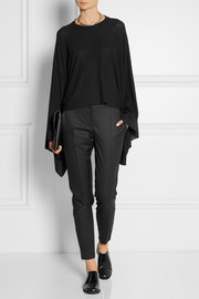 MM6 Maison Martin Margiela Draped knitted sweater