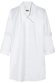 MM6 Maison Martin Margiela Brushed-cotton shirt