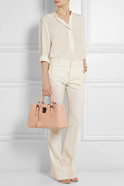 Bottega Veneta Roma small intrecciato leather shoulder bag