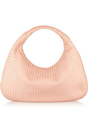 Bottega Veneta Maxi Veneta intrecciato leather shoulder bag