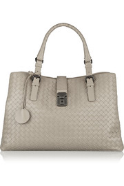 Bottega Veneta Roma large intrecciato leather tote