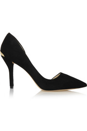 Julieta suede pumps