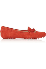 Daisy suede loafers
