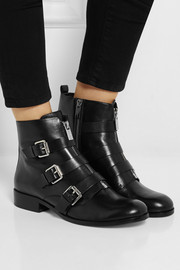 MICHAEL Michael Kors Anya leather ankle boots