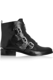 Anya leather ankle boots