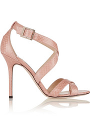 Jimmy Choo Lottie elaphe sandals