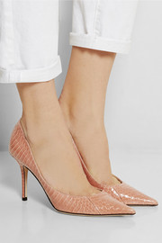 Jimmy Choo Agnes elaphe pumps