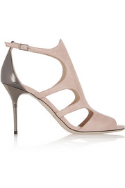 Jimmy Choo Tendor cutout suede sandals