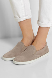 Jimmy Choo Demi suede slip-on sneakers