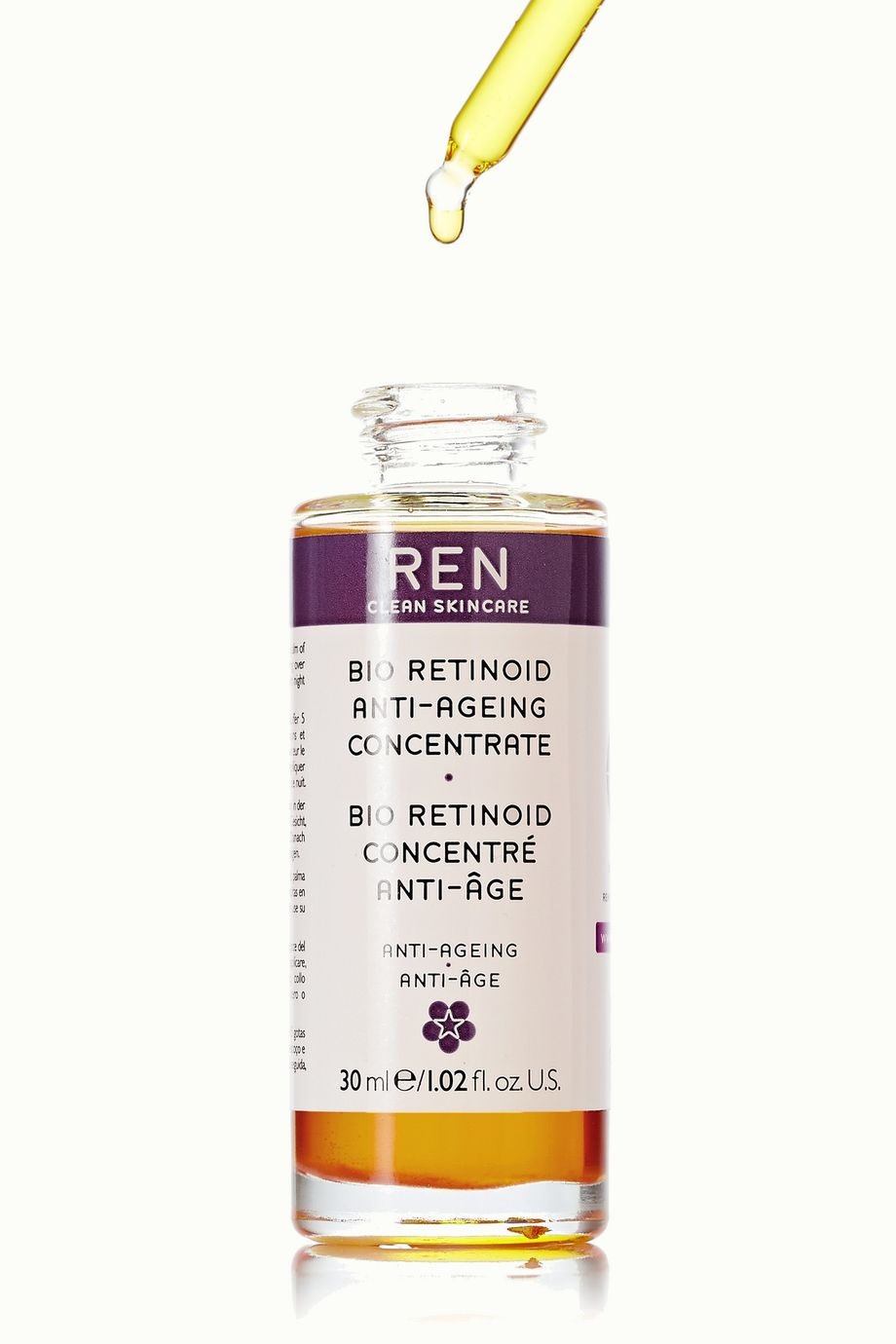 REN Clean Skincare Bio Retinoid Anti-Wrinkle Concentrate Oil, 30ml