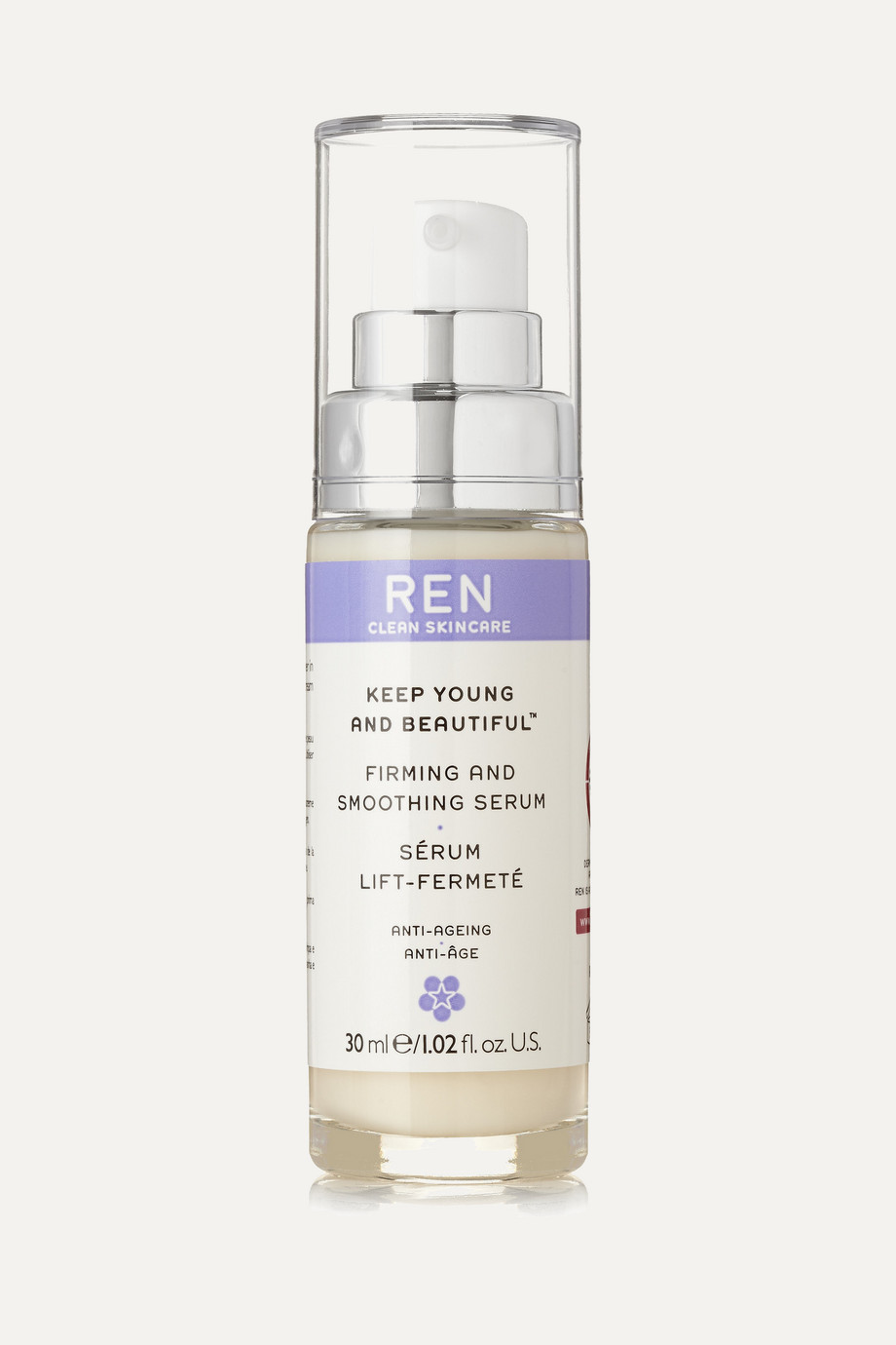 Keep Young and Beautiful Firming and Smoothing Serum, 30ml, by Ren Skincare