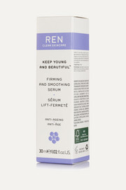 Ren Skincare Keep Young and Beautiful Firming and Smoothing Serum, 30ml