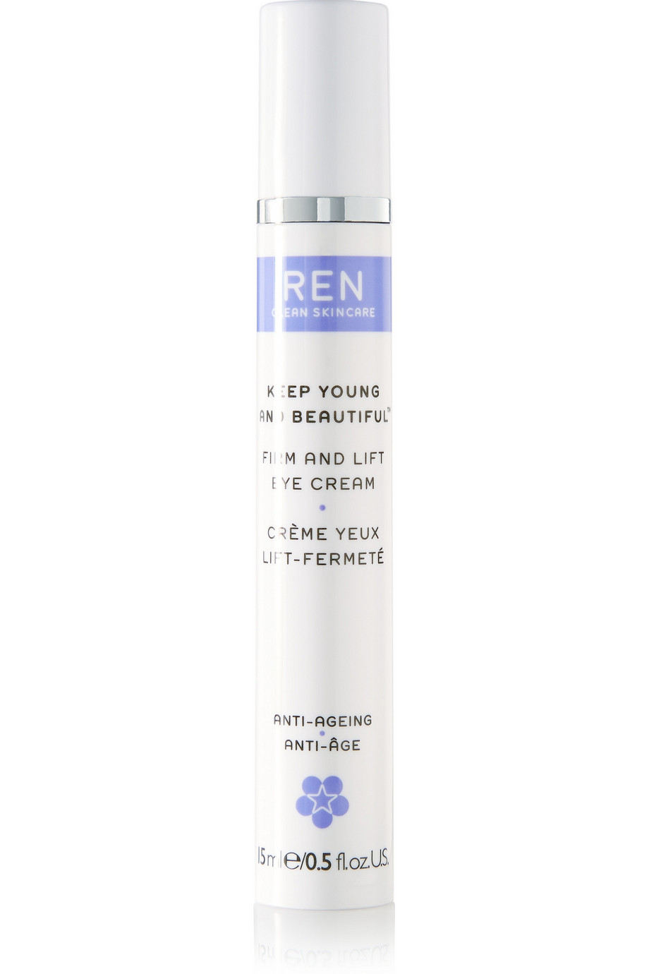 Keep Young and Beautiful Firm and Lift Eye Cream, 15ml, by Ren Skincare