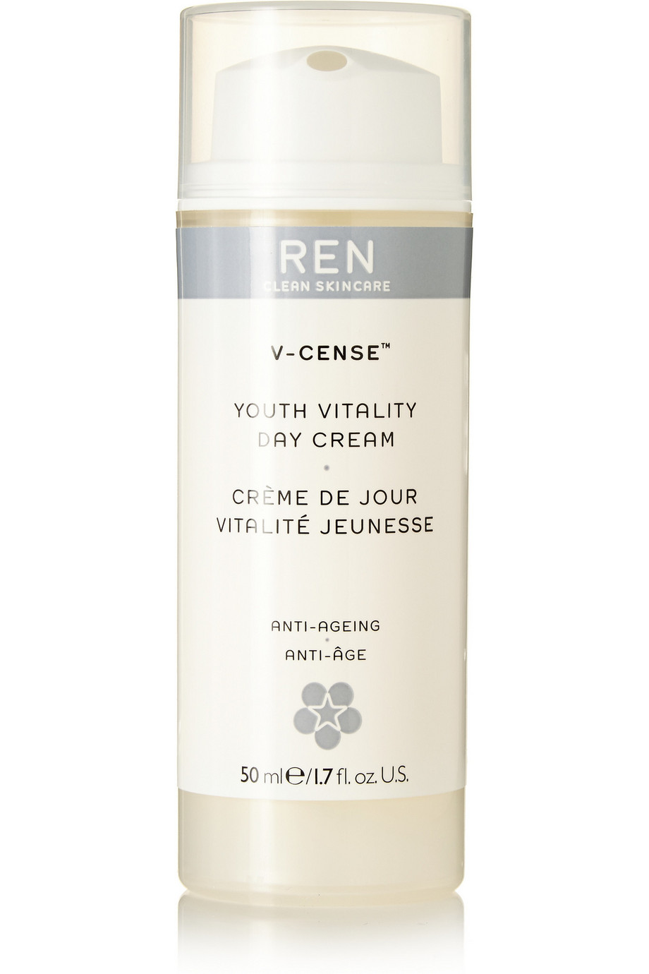 V-Cense Youth Vitality Day Cream, 50ml, by Ren Skincare
