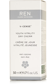Ren Skincare V-Cense Youth Vitality Day Cream, 50ml