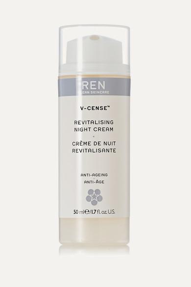 REN Skincare - V-cense Revitalising Night Cream, 50ml - Colorless