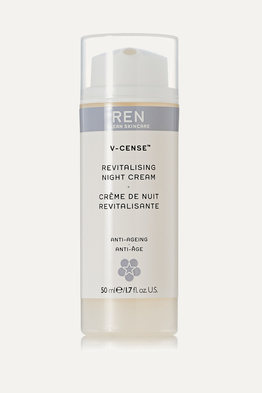 V-Cense Revitalising Night Cream, 50ml, by Ren Skincare