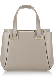 Alfie small leather tote